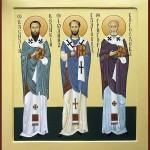 ПРЕСТОЛЬНЫЙ ПРАЗДНИК. День памяти трех святителей: Василия Великого, Григория Богослова и Иоанна Златоуста