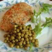 Картофельные зразы с грибами в панировке из овсянки