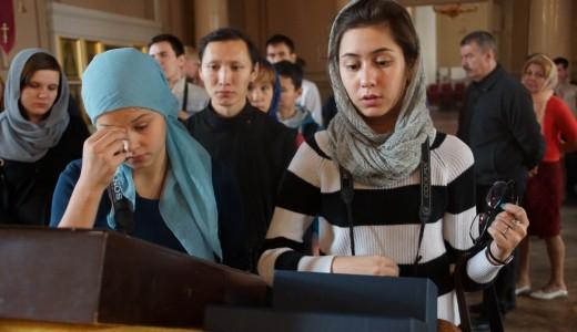(ФОТО) Встреча паломников из Якутии