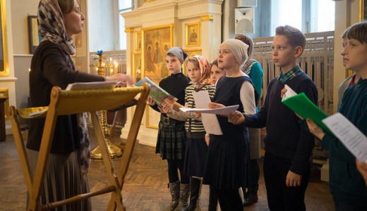 (ФОТО) Дебют хора Воскресной школы