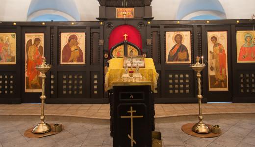 Храм свт. Филарета сегодня