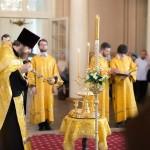 Праздничная церковная служба в день памяти первоверховных апостолов Петра и Павла