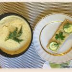 Паста из хумуса и тхины
