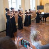 Концерт ансамбля скрипачей «Лицея искусств»