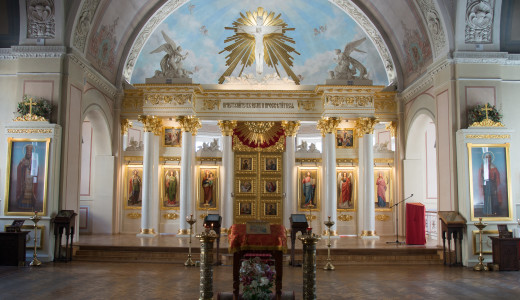 Храм св. мц. Татианы сегодня